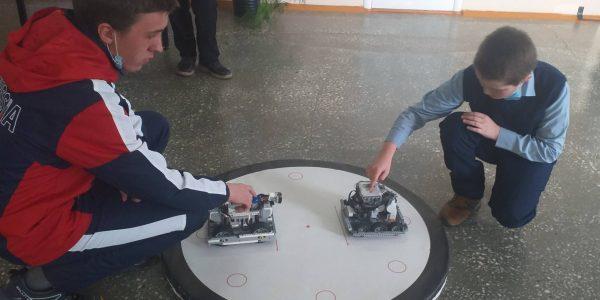 Борьба сумо, между роботами